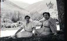 La Retina: retrato de dos vecinas de Valgañón