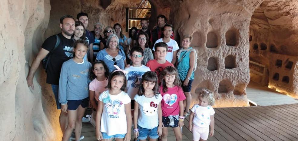 La cueva de los Cien Pilares, atractivo turístico