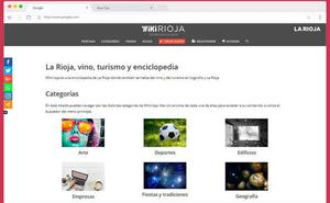 La Wikipedia de La Rioja