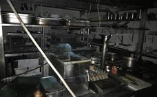 Incendio sin daños personales en la cocina del restaurante Entrepuentes