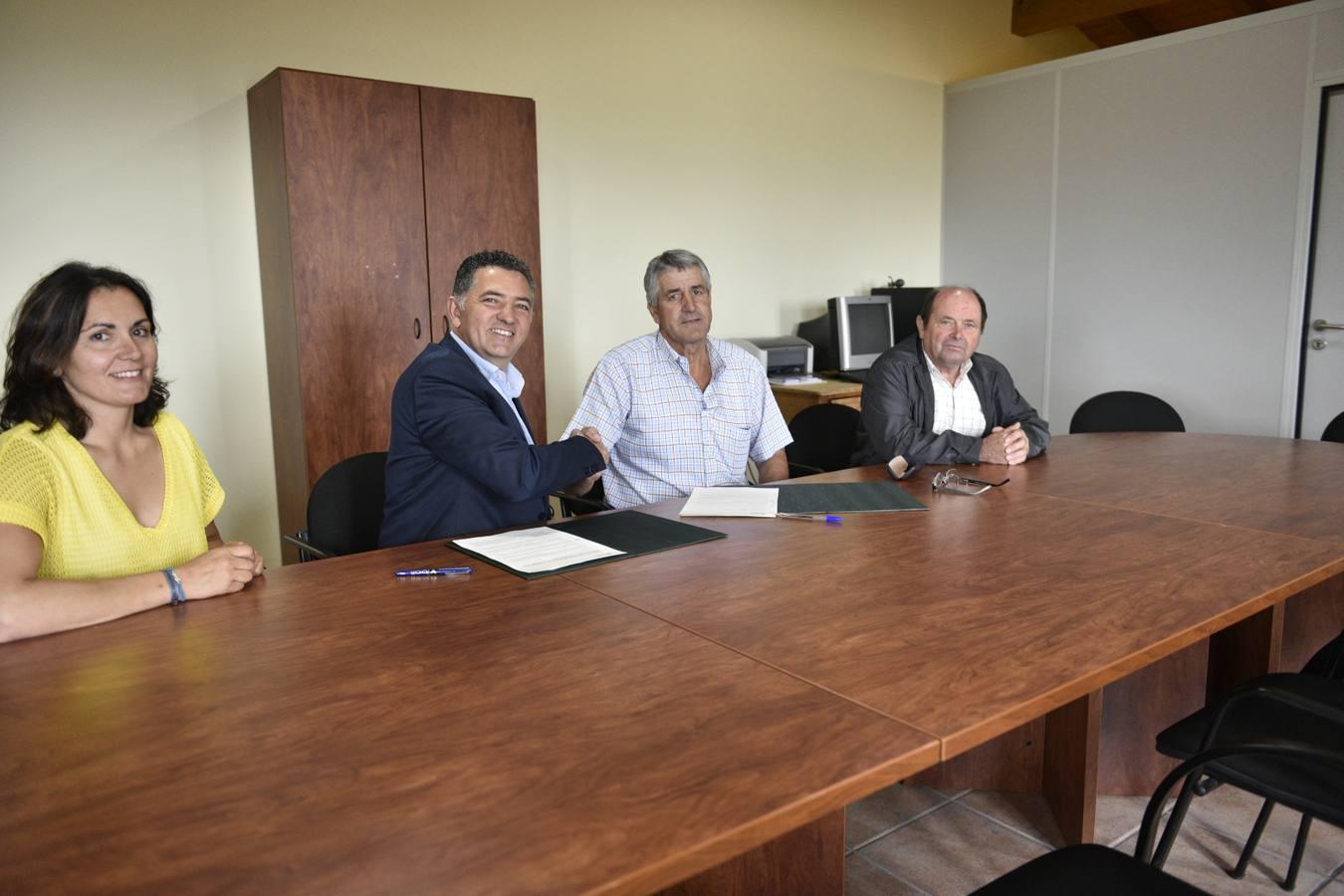 Convenio para reurbanizar tres calles de Cellorigo