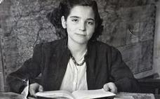 Retrato de joven igeana en los 50