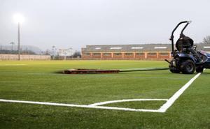 El Mundial'82 contará con unas gradas desmontables cubiertas para 650 espectadores