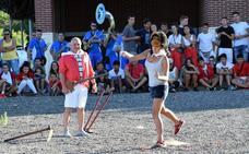XXII Concurso de lanzamiento de azadón en Agoncillo