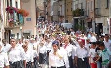 Procesión por San Roque en Galilea
