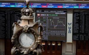 El Ibex-35 baja un 1,92% en su tercera semana seguida de pérdidas