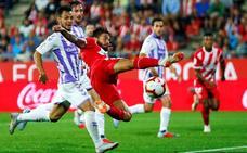 El nuevo Girona de Eusebio no puede con el Valladolid