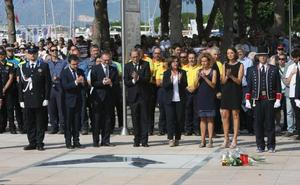 Cambrils recuerda a las víctimas del 17-A