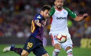 Barça-Alavés, en directo