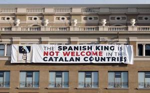 El Govern dice que la pancarta era segura y defiende la libertad de expresión