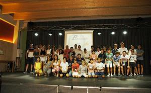 Aldeanueva homenajeó a los deportistas más destacados del último año