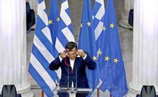 Grecia obtiene la libertad condicional