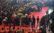 Italia pide justicia en el funeral de Génova