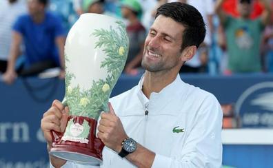 Djokovic completa la colección de Masters 1000 ante Federer en Cincinnati