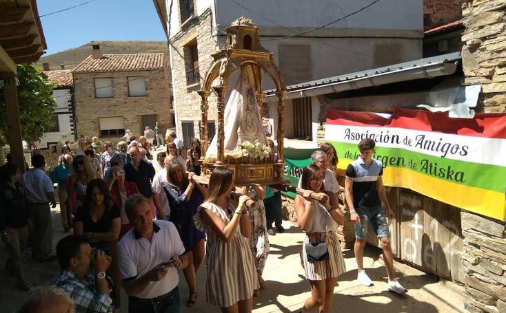 Fiestas de Navajún en honor a la Virgen de Atisca