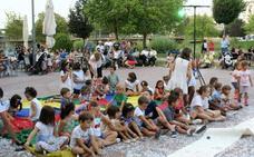 Niños y mayores disfrutaron con los actos del Verano Cultural najerino