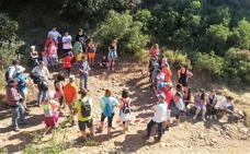 Visita a las excavaciones en el Camino de Santiago