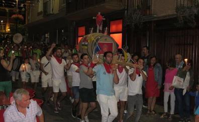 EL ENTIERRO DE LA CUBA PUSO EL FINAL A LAS FIESTAS DE ALFARO