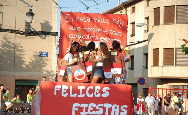 Comienzan las fiestas de san Bartolomé en Aldeanueva de Ebro