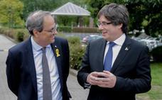Torra y Puigdemont exigen «hechos» inmediatos a Sánchez