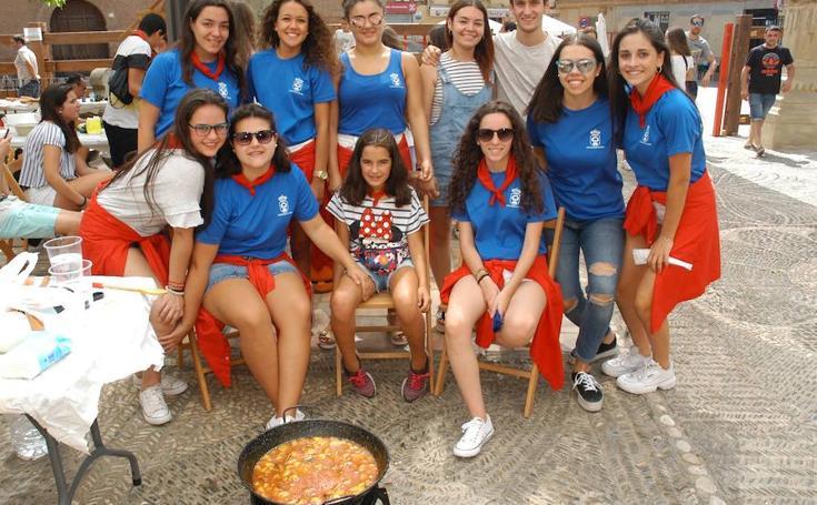 Concurso de calderillos en Aldeanueva de Ebro