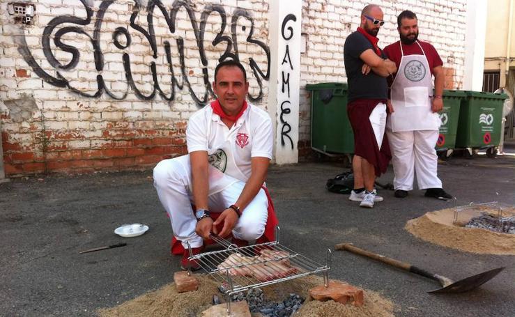 Festival de la careta asada en Calahorra