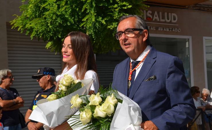 Ofrenda floral en Calahorra (I)