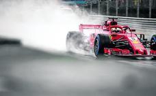 Vettel y Kimi apuntan a un 'doblete' en Monza