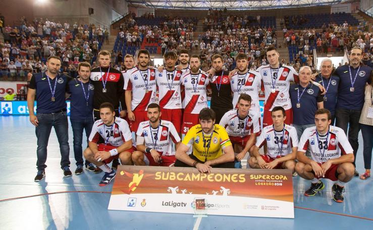 Supercopa Asobal: El Ciudad de Logroño no puede con el Barça (27-35)