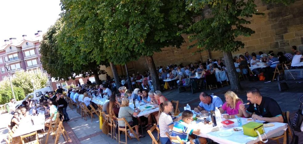 Las Huertas celebra su comida popular