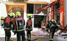 Extinguido un incendio en una bajera de Nájera