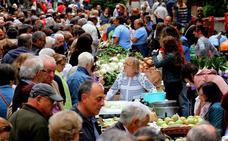 Tocados de verdura y agricultura ecológica en el 50 Concurso Agrícola