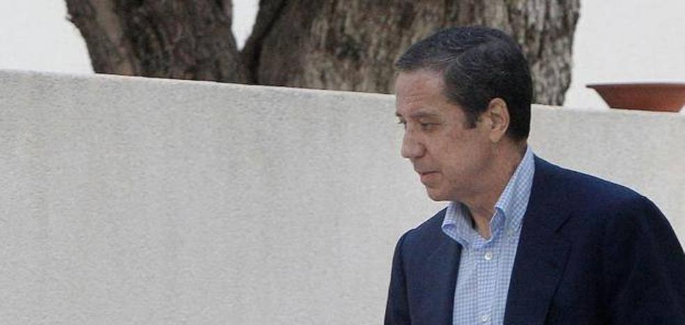 La Audiencia Provincial mantiene a Zaplana en prisión