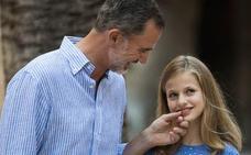 Leonor debuta en Covadonga como princesa de Asturias