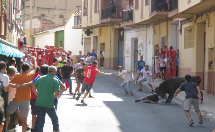 Fiestas con susto en El Burgo