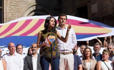 Rivera advierte a Sánchez: «Torra no es un aliado sino un rival»