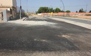 Concluyen los trabajos para adecuar el colector del cementerio de Alfaro