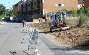 Comienza la mejora de accesibilidad en la Avenida de La Rioja de Nájera