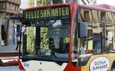 El Ayuntamiento refuerza el servicio de transporte urbano por San Mateo