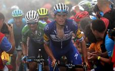 Valverde y Mas ponen la Vuelta al rojo vivo