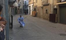 Una monja muy taurina en Igea