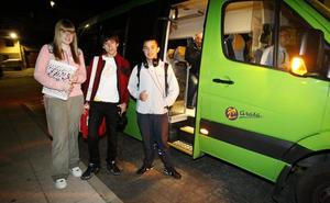 Los alumnos de FP y Bachillerato de la zona de Cervera tendrán transporte gratuito