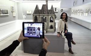 Ana Juan presenta hoy en la Esdir su exposición 'Dibujando al otro lado'