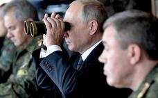 Putin aboga por reforzar el Ejército en su visita a las maniobras 'Vostok-2018'