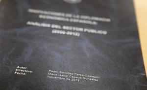 La tesis de Sánchez ya está publicada en internet
