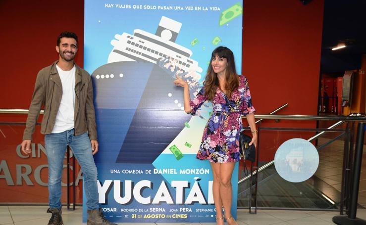 La actriz calagurritana Alicia Fernández presenta 'Yucatán'