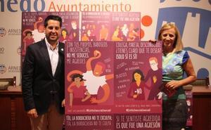 Arnedo lanza una campaña contra la violencia de género