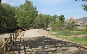 Arnedo cede su tramo para la mejora de la Vía Verde del Cidacos