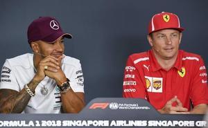 Kimi Raikkonen se reivindica en Singapur