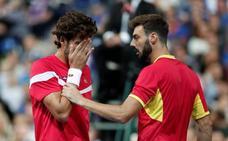 Feliciano y Granollers confirman la eliminación de España